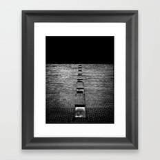 Above and Below at No 369 Pape Ave Toronto Canada Framed Art Print