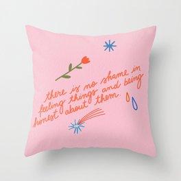 No Shame Throw Pillow