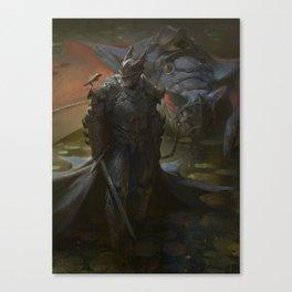 The Caped Crusader Canvas Print