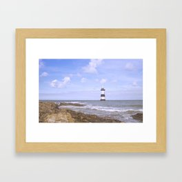 Penmon Point Lighthouse Framed Art Print