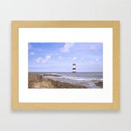 Penmon Point Lighthouse Framed Art Print