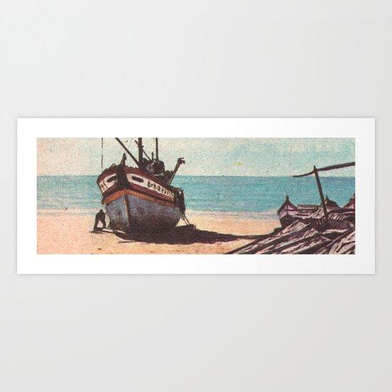 Shore Leave Art Print