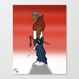 Street Samurai Series - Sh.O.G.un Canvas Print