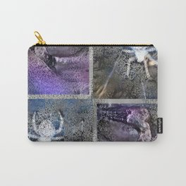 Frosty Spider Woman Carry-All Pouch