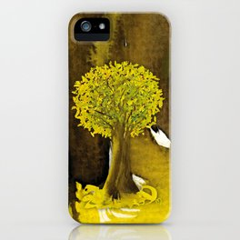 The Fortune Tree #5 iPhone Case