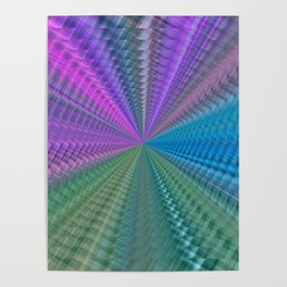 Psychedelic Twist Poster