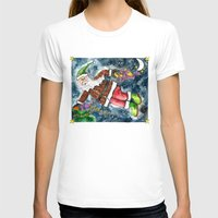 santa T-shirts featuring Santa by Shelley Ylst Art