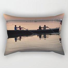 Morning Row in Charleston Rectangular Pillow