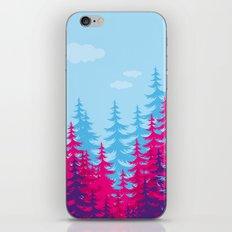 Forest elephant iPhone & iPod Skin