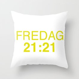 21:21 - isak and even - SKAM Throw Pillow