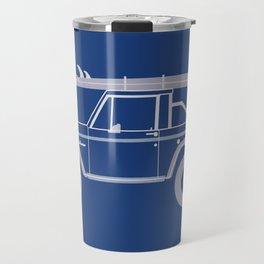 Bronco Blueprint Travel Mug