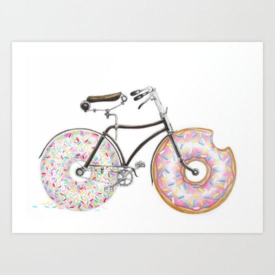 Bike Me Art Print