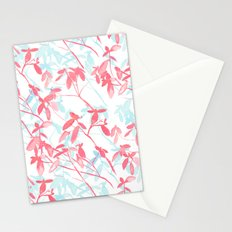 Premonition (Coral Mint) Stationery Cards