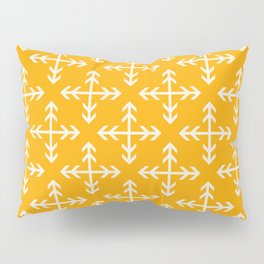 Arrowmatic Orange Pillow Sham