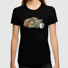 """""""Lazy Lioness"""" - Java Jungle collection T-shirt"""