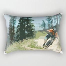 Mountain Bike Design Rectangular Pillow