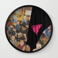 queer Wall Clocks featuring Queer Nation (…Under God) by BRENT PRUITT