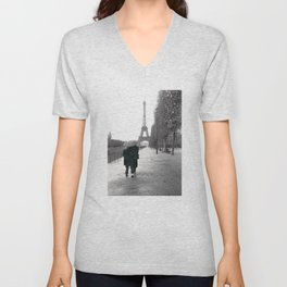 Paris Amour Unisex V-Neck