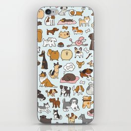 Doggy Doodle iPhone Skin