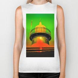 Lighthouse romance 100 Biker Tank