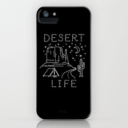 Desert Life iPhone Case