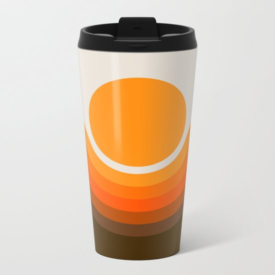 Golden Canyon Metal Travel Mug