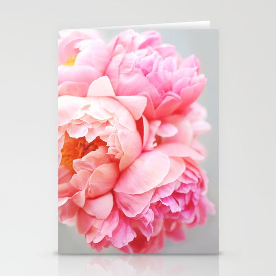 Peonies Forever Stationery Cards