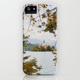 Lake Bled, Slovenia iPhone Case