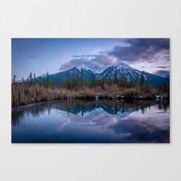 Vermillion Lake Reflections Canvas Print