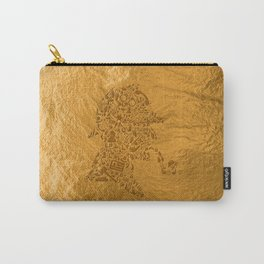 Sherlock - Gold Carry-All Pouch