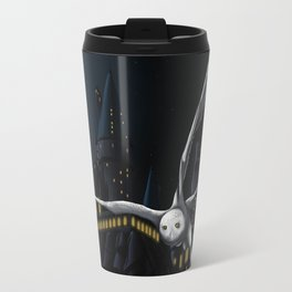 Hedwig's flight at Night Travel Mug