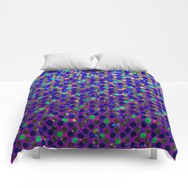 Polka Dot Sparkley Jewels G263 Comforters