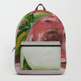 Peony flowers Backpack