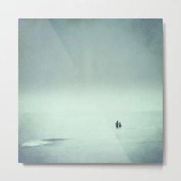 Calm swim Metal Print