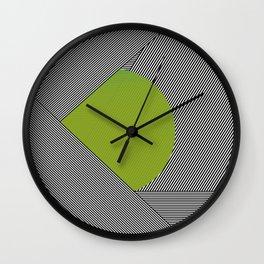 dot & stripes Wall Clock