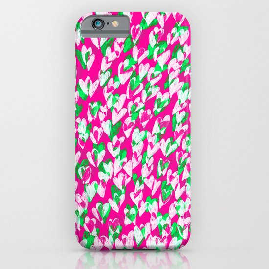 Love hearts iPhone & iPod Case