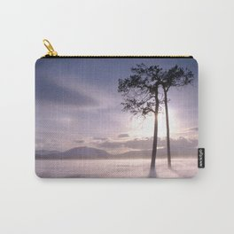 Two trees in winter Carry-All Pouch