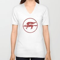 starfox V-neck T-shirts featuring McCloud Hero by Head Glitch