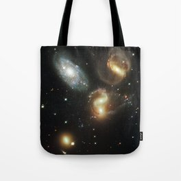 Galactic wreckage Tote Bag