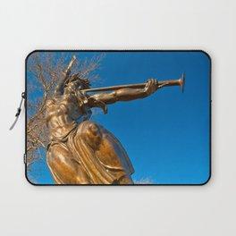 Golden Spirit of Louisiana Laptop Sleeve