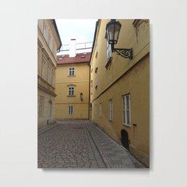 Lost in Prague Metal Print