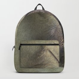Pretty small feather Backpack