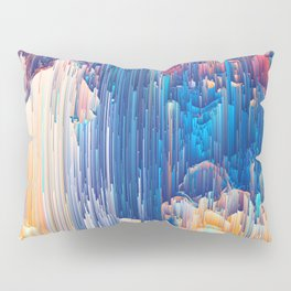 Glitches in the Clouds Pillow Sham