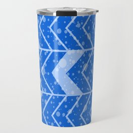 Chevron Splash Travel Mug