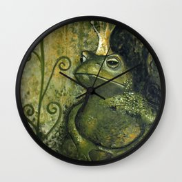 The FROG KING Wall Clock