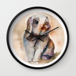 BUNNY #2 Wall Clock