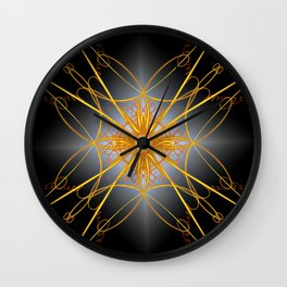Jewelry for the gods! Wall Clock