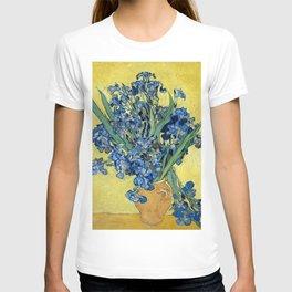 1890-Vincent van Gogh-Irises-73,5x92 T-shirt