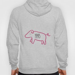 1995 Pig Zodiac Hoody