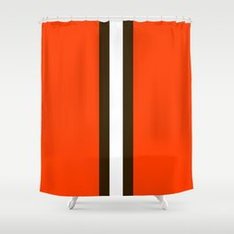 Cleveland Team Colors Shower Curtain